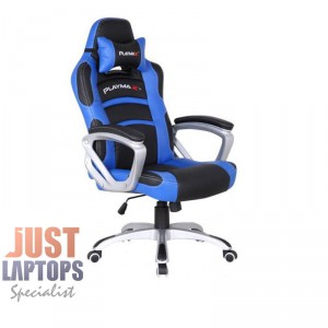 Playmax Gaming Chair Blue and Black - Very comfortable compare to most of others