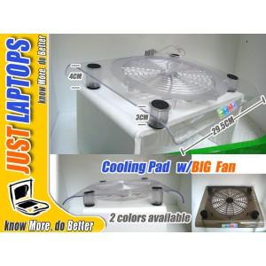 - Laptop Cooling Pad -- Cooler w/ Large Fan & LEDs