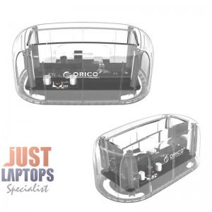 Orico 6139U3-CR 2.5/3.5 inch USB3.0 Hard Drive Dock-Clear Edition