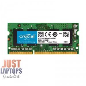 Crucial 8GB DDR3 1600Mhz SODIMM 204pin For Laptop