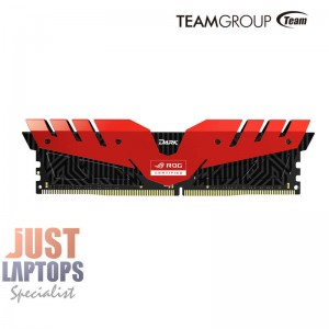 TEAM T-Force Dark ROG Edition 16GB (2x8GB) DDR4-3000Mhz Premium Gaming Memory