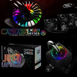 DEEPCOOL CAPTAIN 120EX RGB AIO LIQUID COOLING SYSTEM FOR AMD & INTEL
