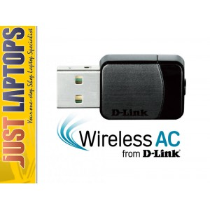 D-Link DWA-171 Dual Band AC600 Mini USB Wireless Adapter, (Support Win10 & Mac)