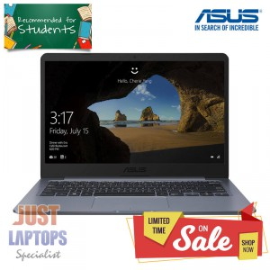 *NEW* ASUS Vivobook E406SA Grey 14 inch Intel 4GB RAM 64GB Storage Windows 10 S