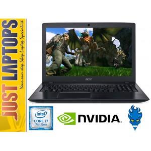 Acer Aspire E5-774G 17.3 FHD Kabylake I7-7500U 3.5Ghz 16GB D4 275SSD+1TB GT940MX