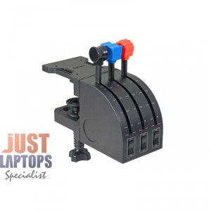 Logitech Pro Flight Throttle Quadrant - Can be used with any joystick or yoke