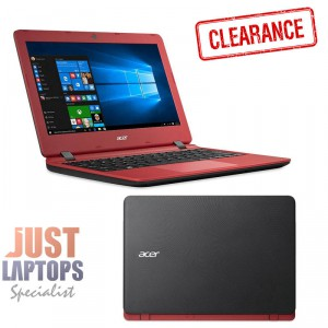 "ACER CLOUDBOOK 11"" N3350 Dual Core 4GB Ram 32GB Storage WINDOWS 10 1.2KG RED"