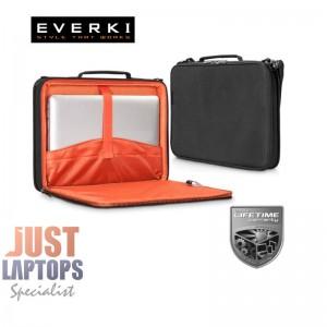"Everki EKF871 EVA Hard Shell Laptop Case Bag 13.3"" Handle+Strap"