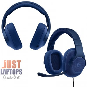 Logitech G433 7.1 Surround Sound USB Gaming Headset - Blue For PC and Console