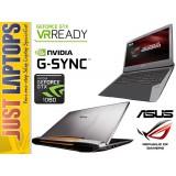 ASUS ROG G752 I7-6700HQ 16GB 256GB PCIE SSD+1TB GTX1060 6GB GDDR5 FHD IPS G-SYNC