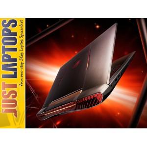 ASUS ROG G752 KABYLAKE I7-7700HQ 32GB DDR4 256PCIE SSD+1T GTX1070 8GB 120Hz IPS