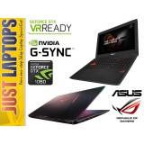 ASUS ROG STRIX GL502 Pascal I7-6700HQ 128GSSD + 1TB GTX1060 6GB GDDR5 FHD G-Sync