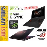 ASUS ROG STRIX GL502 I7-6700HQ 256GB PCIE SSD + 1TB GTX1070 8GB GDDR5 FHD G-Sync