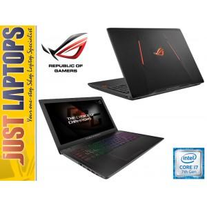 ASUS ROG GL553 KABYLAKE I7-7700HQ 256GBSSD+1TB 7200RPM FHD IPS GTX1050 4GB GDDR5