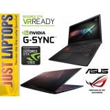 """ASUS ROG Strix GL702 Pascal I7-6700HQ 128GBSSD+1TB GTX1060 17.3"""" FHD + G-Sync"""