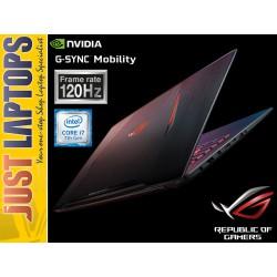 """ASUS ROG STRIX GL702 17.3"""" G-Sync 120Hz I7-7700HQ 16GB 256PCIE SSD +1TB GTX1070"""