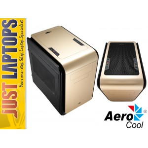 Aerocool DS Cube Mini Gaming Chassis - GOLD