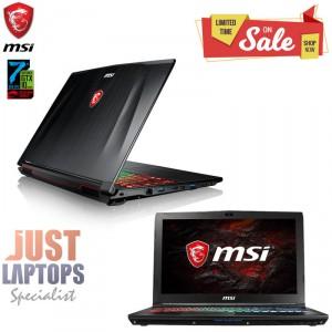 MSI GP62 LEOPARD I7-7700HQ 16GB 128GB SSD+1TB GTX1050 4GB RGB Keyboard FHD