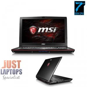 MSI GP62 Leopard KABYLAKE I7-7700HQ 16GB DDR4-2400Mhz 128GBSSD+1TB GTX1050 WIN10