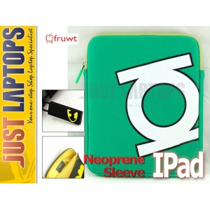 Fruwt - DC Sleeve Neoprene for IPad Green Lantern
