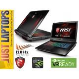 MSI GT73VR I7-6820HK 16GB DDR4 256GB PCIE SSD+1TB GTX1070 8GB GDDR5 120Hz FHD