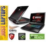MSI GT73VR I7-6820HK 32GB DDR4 512GB PCIE SSD+1TB GTX1080 8GB GDDR5X 120Hz FHD