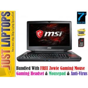 MSI GT83VR TITAN SLI GTX1080 I7-7920HQ 32GB DDR4 256GB Super Raid PCIE SSD + 1TB