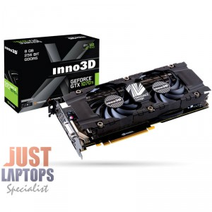 INNO3D GEFORCE GTX 1070TI X2 8GB GDDR5 Dual Fan Gaming Graphics Card