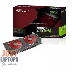 GALAX NVIDIA Geforce GTX1070Ti-EX Edition 8GB GDDR5 w/ Aluminium Backplate