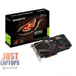 Gigabyte Windforce GV-N1070WF2OC-8GD GTX1070 OC 8GB GDDR5 Video Card