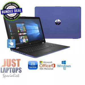 "HP 17 TOUCHSMART 17.3"" I5-7200U 16 GB 480G SSD + 2TB Blue Backlit Keyboard"