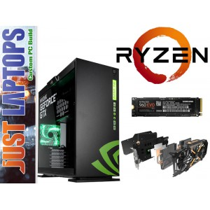 Gaming PC - InWin 303-NVIDIA - Ryzen 5 1600X 16GB 256GB Samsung 960 EVO GTX1070