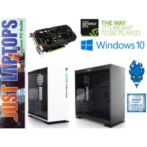 Gaming PC - InWin 303 - I5-7600 16GB DDR4 120SSD+1TB GEFORCE GTX1060WF 6GB GDDR5
