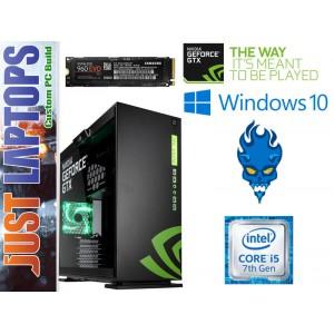 Gaming PC - InWin 303-NVIDIA - I7-7700 16GB DDR4-2666Mhz Samsung 960 EVO GTX1070