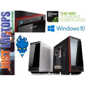 Gaming PC - InWin 503 - I3-7100 8GB DDR4 120SSD+1TB GEFORCE GTX1050Ti 4GB GDDR5