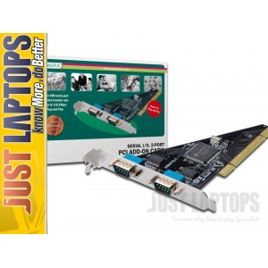 digitus PCI serial I/O 2-Port add-on card