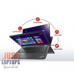 "Lenovo ThinkPad Yoga 12.5"" i5 SSD Win 10Pro TOUCH"