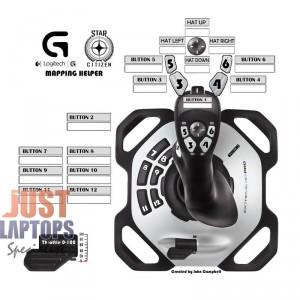Logitech EXTREME 3D PRO JOYSTICK 3 Years Warranty