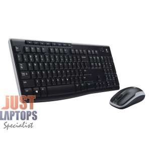 Logitech MK270r Wireless Keyboard Wireless Mouse