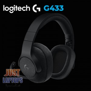 Logitech G433 7.1 Surround Sound Gaming Headset - Black