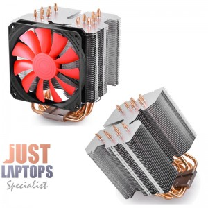 DEEPCOOL GAMER STORM - LUCIFER K2 CPU Air Cooler 6x Heatpipes Slim PWN Fan