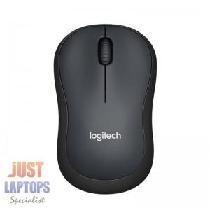 Logitech M221 Silent Wireless Mouse Black
