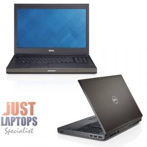 Dell Precision M4800 CAD Workstation I7-4800MQ 32GB Ram 512GB SSD Quadro K2100M