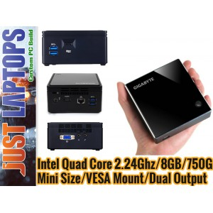 Next Gen Home PC - Intel N3160 8GB 750GB Windows 7