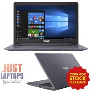 """ASUS N580VD Vivobook Pro 15.6"""" FHD I7-7700HQ 8GB Ram 512GB SSD GTX1050 4GB"""