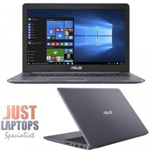 "ASUS N580VD Vivobook Pro 15.6"" FHD IPS I7-7700HQ 8GB Ram 512GB SSD GTX1050 4GB"