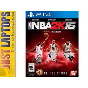 Playstation 4 Game - NBA 2K16 [New]