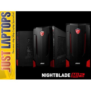 MSI NightBlade Gaming PC I5-6400 8GB DDR4 128GB SSD+1TB GTX960 4GB WINDOWS 10