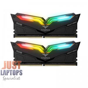 TEAM NIGHT HAWK RGB 16GB(2x8GB) DDR4-4000Mhz Premium Gaming Memory For PC