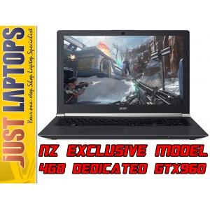 Acer NITRO 15 Skylake i7-6700HQ 16GB 275GBSSD+2TB GTX960M 4GB FHD IPS Backlit KB